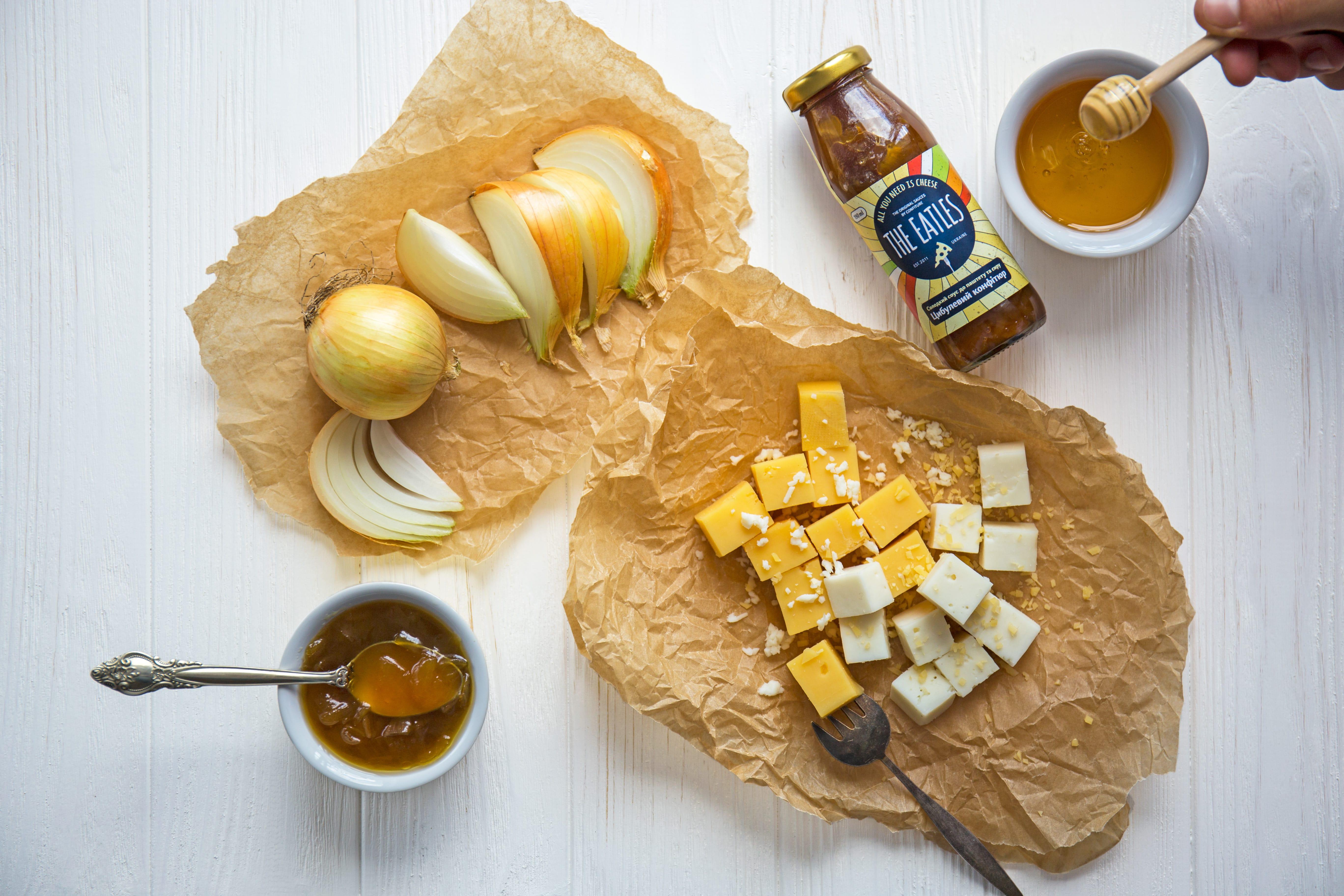 Медовый соус с луком